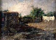 Maria Fortuny i Marsal Paesaggio oil painting