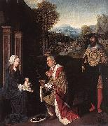 Master of Hoogstraeten The Adoration of the Magi oil painting reproduction