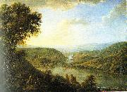 Johann Caspar Schneider landscape oil painting reproduction