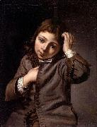 Michiel Sweerts Portrait of a boy oil painting reproduction
