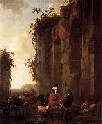 Nicolaes Pietersz. Berchem Ruins in Italy oil painting