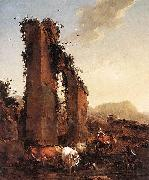 Ruined Aqueduct, Nicolaes Pietersz. Berchem