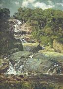 Nicolas-Antoine Taunay Small Cascade in Tijuca oil painting