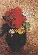 The red poppy, Odilon Redon