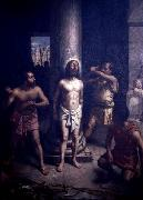 Oscar Pereira da Silva Flagellation of Christ oil painting