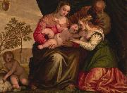 The Mystic Marriage of St Catherine, Paolo  Veronese