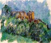 Paul Cezanne Chateau Noir oil painting reproduction
