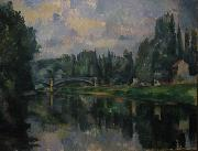 Bridge at Cereteil, Paul Cezanne