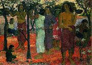Paul Gauguin Nave nave mahana oil painting on canvas