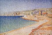 The Jetty at Cassis, Paul Signac