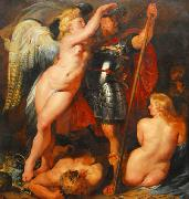 Crowning of the Hero, Peter Paul Rubens