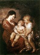 Peter Paul Rubens Virgin and Child with the Infant St John oil painting reproduction