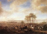 Philips Wouwerman The Horse Fair oil painting on canvas