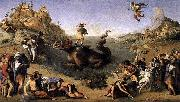 Piero di Cosimo Perseus Frees Andromeda oil painting reproduction