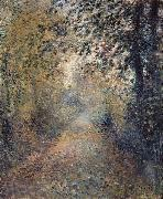 In the Woods, Pierre Auguste Renoir