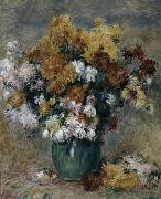 Bouquet of Chrysanthemums, Pierre Auguste Renoir
