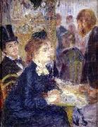 At the Cafe, Pierre Auguste Renoir