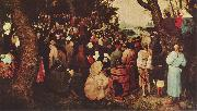 Pieter Bruegel the Elder Bubdigt des Johannes oil painting