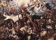 Pieter Bruegel the Elder The Fall of the Rebel Angels oil painting