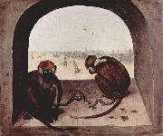Pieter Bruegel the Elder Zwei Affen oil painting reproduction
