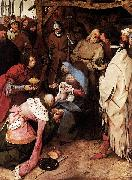Pieter Bruegel the Elder The Adoration of the Kings oil painting reproduction