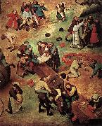 Pieter Bruegel the Elder Childrens Games oil painting