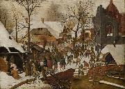 Pieter Brueghel the Younger The Adoration of the Magi oil painting reproduction