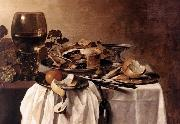Pieter Claesz Still-life oil painting reproduction