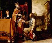 King David Handing the Letter to Uriah