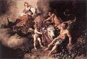 Pieter Lastman Juno Discovering Jupiter with Io oil painting on canvas