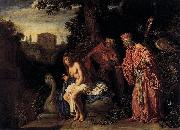 Pieter Lastman Susanna and the Elders oil painting