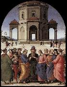 Marriage of the Virgin, Pietro Perugino