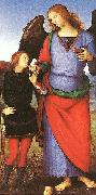 Tobias with the Angel Raphael, Pietro Perugino