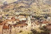 Poynter, Sir Edward John Funchal Morning Sun oil painting reproduction
