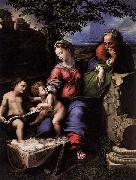 Holy Family below the Oak