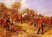 Robert Alexander Hillingford George II at the Battle of Dettingen oil painting