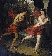 Robert Lefere Pauline as Daphne Fleeing from Apollo oil painting