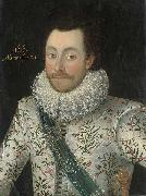 Portrait of Sir John Penruddock, Robert Peake the Elder