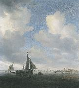 Saloman van Ruysdael View of Alkmaar oil painting