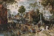 Sebastiaen Vrancx The Battle of Stadtlohn oil painting artist