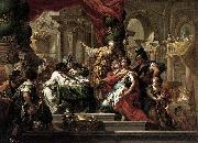 Sebastiano Conca Alexander the Great in the Temple of Jerusalem oil painting
