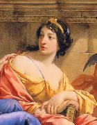 The Muses Urania and Calliope, Simon Vouet