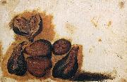 Simone Peterzano Still-Life of Figs oil painting