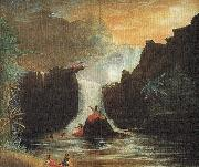 Theodore Heuck Nuuanu Falls oil painting reproduction