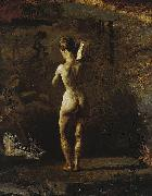 Study for William Rush Carving His Allegorical Figure of the Schuylkill