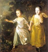 Chasing a Butterfly, Thomas Gainsborough