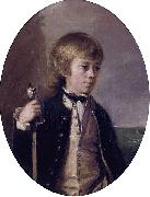 Thomas Hickey Henry William Baynton oil painting