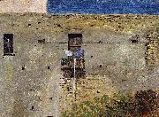 Thomas Jones A Wall in Naples oil painting