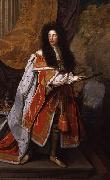 Thomas Murray Portrait of King William III of England oil painting