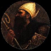 Titian St Augustine oil painting reproduction